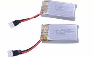 RC Spielzeug Batterie für FY310 / Top Verkauf X6 / H107L X4 / JXD385 / JD385 6CH RC 6-Achsen Quadcopter Drohne Ersatzteile / bateria drone 3,7 v 300 mah 2 teile / los