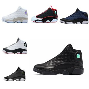 2018 new 13 Ray allen Uomo Scarpe da basket Baroni black cat navy Chutney Chicago Sneakers da uomo scarpe sportive us 8-13