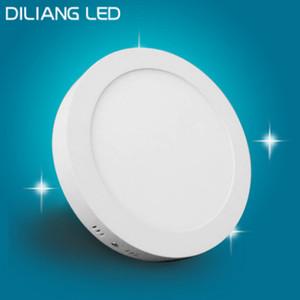 LED panel ışığı 18W yüzeye monte ışık 8 inç yüksek lümen downlight yuvarlak