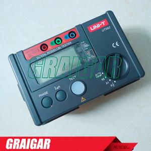 디지털 RCD (ELCB) 테스터 UNI-T UT582 AUTO RAMP 기능 누설 회로 차단기 누설 방지 스위치 테스터