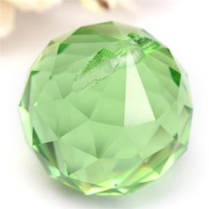 Nova Chegada de Cristais De Vidro Verde Lâmpada Prismas Pendurado Gotas Pingente de 30mm / 40mm Em estoque ordem $ 18no faixa