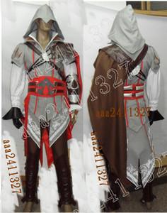 Assassin's Creed 2 Costume II EZIO anime cosplay NOVO