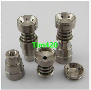 Universal Infinity Domeless Titan Nagel 14mm 18mm Einstellbare männlich oder weiblich Öl Gr2 domeless Titan Nägel