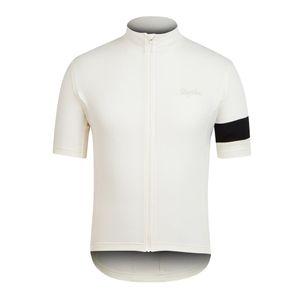 Rapha Maillots De Cyclisme Manches Courtes D'été Cyclisme Chemises Vélo Vêtements Porter Du Vélo Confortable Respirant Chaud Nouveau Rapha Jerseys 7 Couleurs