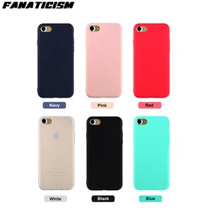Atacado Candy Color Soft Silicone Capas para iPhone 11 Pro XR X XS Max 8 7 6 PLUS 5S SE TPU foste tampa