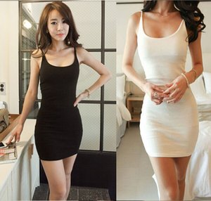 Al por mayor-2015 Hot New Women Sexy BodyCon Evening Party Clothing Ladies sin mangas más el tamaño del chaleco Vestidos S-XXL QAF192C
