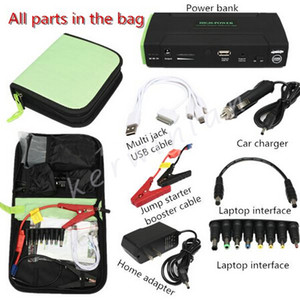 Universal Multi-Function 38000mAh Kit di avviamento per auto Motor Emergency Backup Batteria esterna / diesel Booster Power