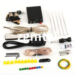 Détails sur le kit Kit complet de tatouage Aiguilles de machines Équipement d'alimentation Encre pour pistolet G9 # E702