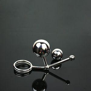 Top qualità in acciaio inox anale spina castità dispositivo maschio cintura di castità Bondage Gear BDSM giocattoli anale massaggio Butt plug prodotti del sesso per gli uomini