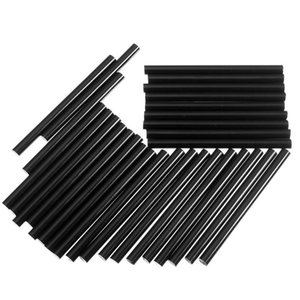 7*100MM 30pcs Black Color Glue Sticker High Viscous Adhesive Strips Hot Melt Glue Stick Colored Mobile Beauty DIY Jewelry Tool order<$18no t