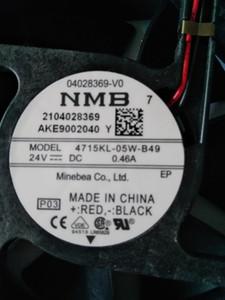 Yeni orijinal NMB fan 4715KL-05W-B49 DC24V12038 invertör soğutma fanı