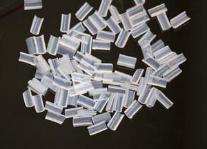 Бесплатная доставка белый цвет кератин ногтей Rebonds советы для наращивания волос 100 штук в мешок