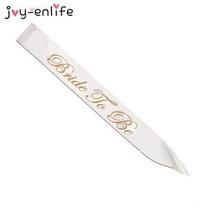 JOY-ENLIFE 4style Wedding Satin Sash Sposa per essere / Damigella d'onore / Mummia per essere / Nanny per essere gallina Pary Dolce Wedding Party Decor Supplies