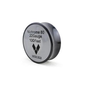 DHL Free Nichrome 80 Wire Resistance Fili di riscaldamento Vapor Tech 100 Feet 24 26 28 30 32 Gauge per DIY RBA RDA Vaporizzatore