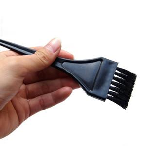 Mo-A71 Black 19 * 3,5 cm Escova de limpeza pequena, escova de limpeza macia para limpeza de carros