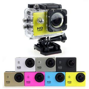 Hot SJ4000 1080P Full HD Action Digital Sport Camera 2 pulgadas de pantalla bajo prueba de agua 30M DV Grabación Mini Sking Bicycle Photo Video 30pcs