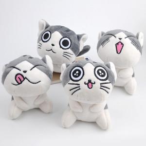 고양이 박제 동물 2019 야옹 수집 미니 인형 인형 귀여운 작은 펜던트
