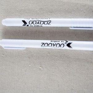 Líquido blanco tiza pluma borrable pluma tiza blanca tiza líquida Pen Nursery etiquetas de la pared para la habitación de los niños plumas originales para Pizarra