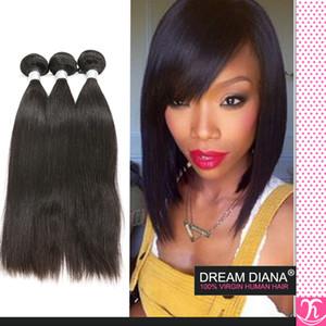 Vip Hair Company Brasilianisches Unverarbeitetes Reines Haar 3 Stücke Cheveux Menschliches Haar Rosa Haar Unternehmen 6a Großhandel Brasilianisches Haar Verworrene Gerade