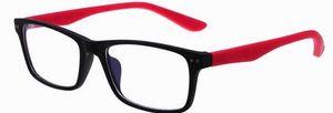 Einzelverkauf 1pcs Art und Weisemarkengläser gestaltet bunte optische Plastikbrillenrahmen 8145