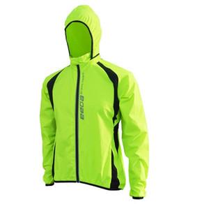 Venta al por mayor a prueba de viento y transpirable Running Jacket Jersey de ciclo MTB de la bicicleta impermeable Escudo bici del cortavientos Ropa Chaqueta impermeable