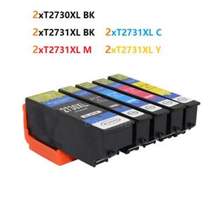 10 PCS de TINTEIRO T2730 T2731 T2732 T2733 T2733 para Epson XP-600 XP-800 XP-610 XP-810 273XL