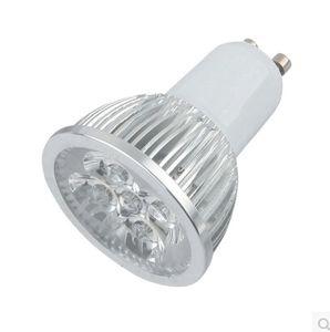4W GU10 E27 Dimmable LED Spotlight No 4x3W Real 4x1W GU 10 Bombillas Spot Lights with 4leds Bulbs Spotlights Downlight 110V 220V CE ROSH