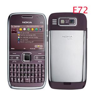 Refurbished E72 Original Nokia E72 Handy 3G Wifi GPS 5 MP Schwarz Entsperrt E-Serie Smartphone Ein Jahr Garantie