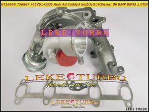 GT1646V 756867 765261 756867-0003 765261-0005 Turbo Turbocompressore per AUDI A3 VW Golf Jetta Passat B6 Leon BMP BMM BVD 2.0L TDI