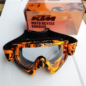 207 Más Nuevo KTM Motocross Gafas Moto Dirt Bike Downhill Glasses Motocross Off-Road Gafas ATV Gafas Para KTM Casco