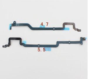IPhone 6 için Artı Ev Menü Düğmesi Flex Kablo Şerit Yedek parça Anakart Anakart iPhone6 4.7 Için 5.5 inç Konektör