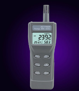 Handheld Carbon Dioxide CO2 Temperature Humidity Hygrometer Dew Point Wet Bulb 5in1 Meter Detector Monitor 77535