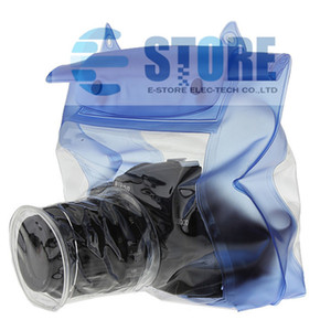 Blue Waterproof Digital Camera DSLR Case Underwater Diving Floating Pouch Housing Dry Bag For Canon For Sony For Nikon D7000