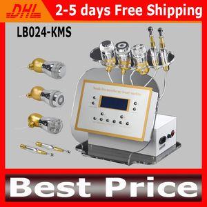 No-Needle Mesotherapy-Maschinen-Multifunktions-Electroporation-Maschinen Gavanic-Photon-Kühlungs-Rf-Gesichtsmaschine für Falten-Abbau