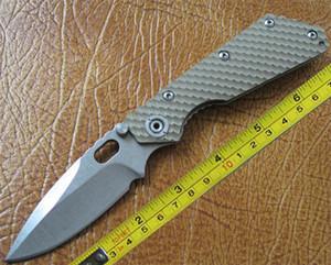 LIVRAISON GRATUITE Livraison gratuite Promotion Nouveau CNC G10 Poignée Strider SMF SNG Couteau de Poche Pliant FD16