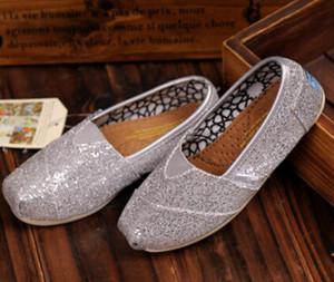 Livraison Gratuite Vente Chaude Marque De Mode chaussures plates Sneakers pour garçons filles enfants Respirant Casual Toile Chaussures enfants chaussures à paillettes