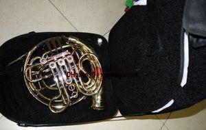 Avancée 4 clés doubles cornes françaises dorées avec étui livraison gratuite