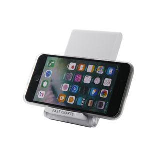 Neue Ankunfts-Sockel-Art schnelles drahtloses Ladegerät für das Mobiltelefon, das auflädt