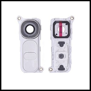 Nuovo originale per LG G4 H810 H811 H815 F500 posteriore posteriore obiettivo della fotocamera Grande obiettivo fotografico di vetro copertura con telaio con sostituzione del pulsante