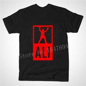 En gros-New Summer Mens MUHAMMAD ALI T Shirts Hommes Sport Fitness Vêtements décontractés MMA à manches courtes Tshirt