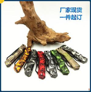 Ghillie Открытый кемпинга портативный складной нож фрукты нож Изысканный подарок нож