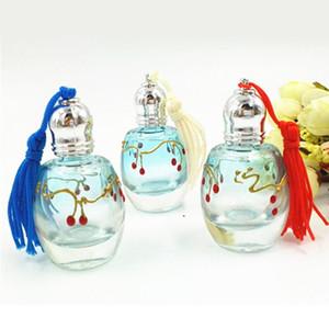 Frasco De Perfume Da Cópia Da Cereja Com Tampas De Rolo 12ml Frasco De Perfume Da Cópia Da Garrafa De Tinta Portátil Recipientes DC755