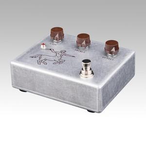 New Klon Centaur Alumínio cor Overdrive Booster Stomp box Pedal! NOVA CONDIÇÃO!