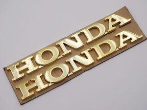 3D ABS tanque de combustible insignia emblema Fender carenado cuerpo etiqueta de la etiqueta engomada para Honda motocicletas CBR 600 750 Racing Bike Custom