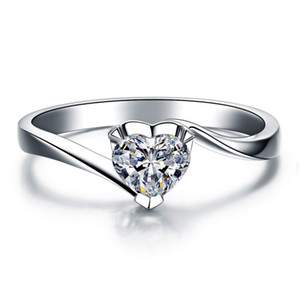 1ct, sona elmas, moissanite elmas yüzük seti, altın kaplama gümüş parmak pt950