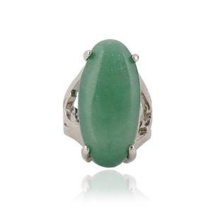 Anello di pietra naturale di fascino della pietra naturale di alta qualità del lotto di 12 pezzi Anello per le donne Gioielli cinesi