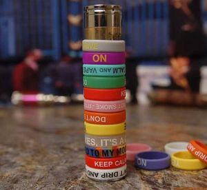 싸구려 전자 담배 비 - 슬립 모드 E Cig 실리콘 반지 실리콘 Vape 밴드 반지 기계적 E에 대 한 전자 Cigares 액세서리 실리콘 반지