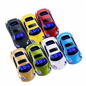 Téléphone de voiture Newmind F15 Flip Phone avec caméra double LED SIM lumière 1.8 pouces écran voiture de luxe en forme de téléphone cellulaire
