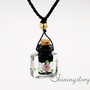 medallón difusor aromaterapia difusor collares pendientes botella de perfume vintage difusores diy collar de difusor de aceite esencial