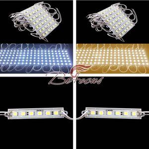 20pcs / lot SMD5050 6 module LED IP65 DC12V étanche blanc froid / blanc chaud / blanc naturel / rouge / vert / bleu / jaune lampe lumineuse